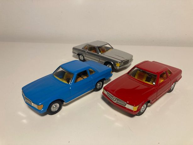 Mercedes 350 SEL 1:32 W107 VW metalowy T2