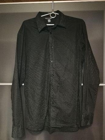 Koszula męska H&M czarna L