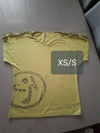 Koszulka na fitness, zumba XS/S