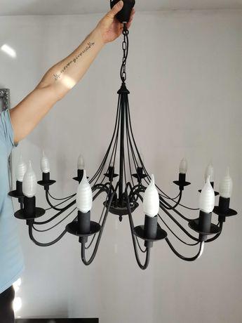 Lampa sufitowa, salonowa piękna (a'la loft industrial)