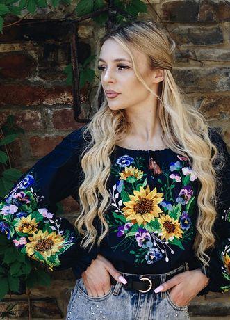 Блузка с вышивкой для девочек подростков и женщин