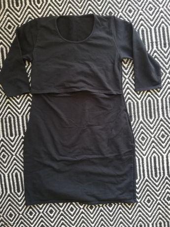 Sukienka ciążowa/ do karmienia dresowa
