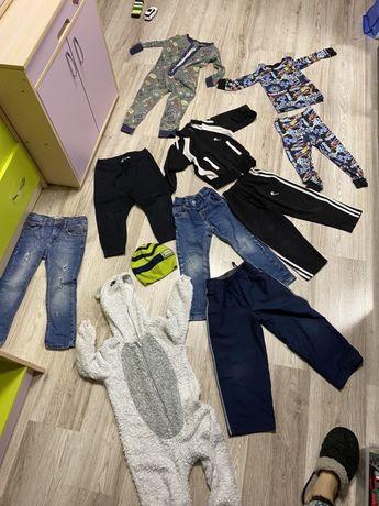 Пакет вещей next,zara, h&m,джинсы,спортивный костюм,пижама,штаны