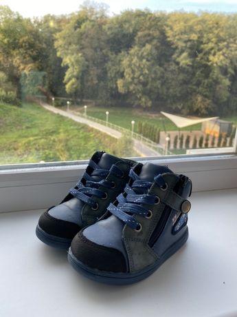 Ботинки демисезонные осень весна на мальчика 22 размер 14 см