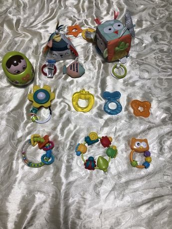 Игрушки для новорожденных, погремушки, игрушка на коляску