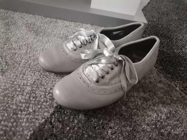 Buty dziewczęce Bootleg szare