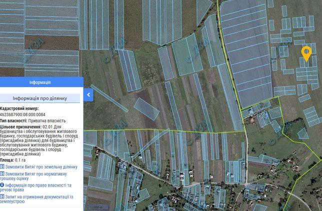 Продається ділянка, село Чижиків, 10 соток
