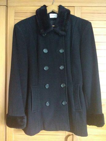 PIMKIE kurtka czarna jesienna/zimowa wełna wełniana rozmiar 42