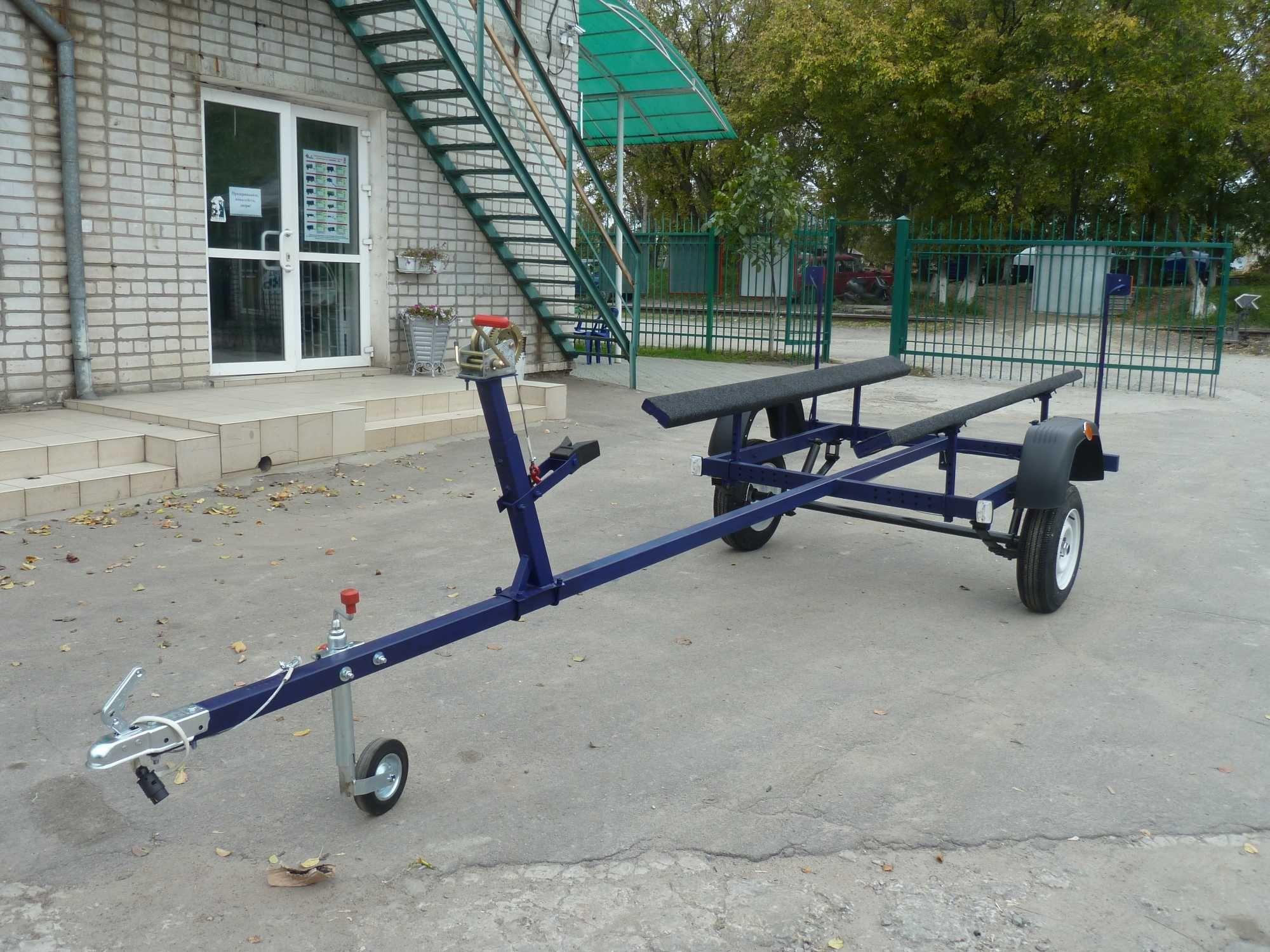 Лодочный прицеп под ЛПС, от завода!ГАРАНТИЯ 10 ЛЕТ, Рассрочка.