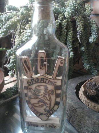 Artesanato - garrafas decorativas