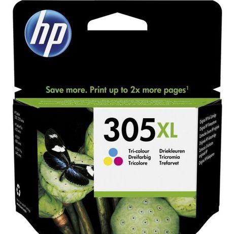 Tinteiros HP originais 305XL Preto e Tricolor