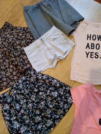Spódnice, koszulki