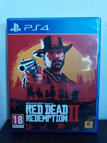Red dead redemption II PS4 mapa PL stan jak nowy