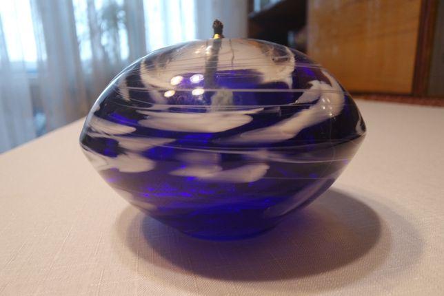 świeczka na naftę ozdobna prl