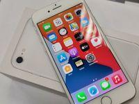 Iphone 8 64GB/ Silver/ Bateria oryg 95%! Piękny stan/ Gwarancja