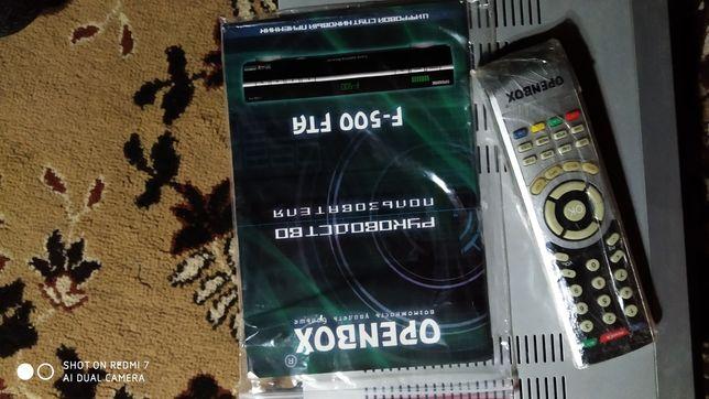 Спутниковый тюнер openbox f500