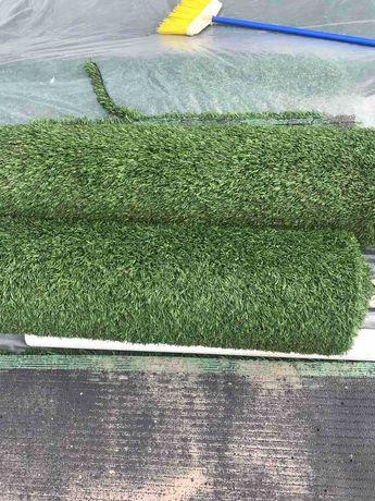 Искусственная трава для футбольного поля б/у