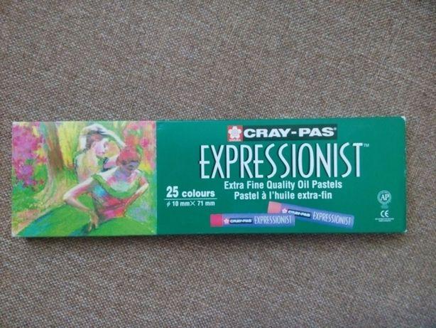 Sakura Crays-Pas Expressionist pastel oil/ Масляная пастель