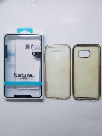 Чехол бампер накладка Nillkin для Samsung s7 Edge