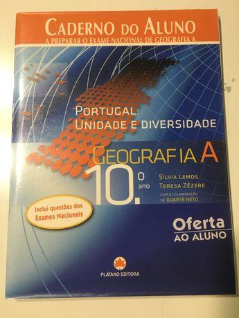 Caderno de atividades de georafia 10 ano