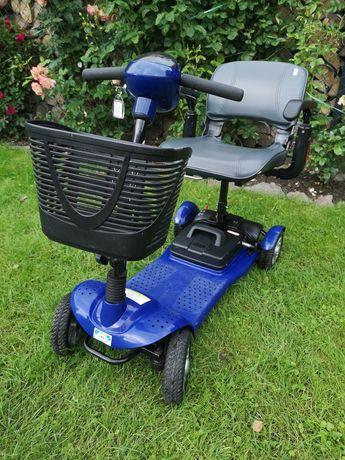 Skuter elektryczny wózek inwalidzki składany lekki