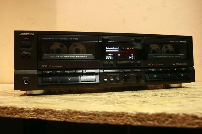 Piękny stan! Magnetofon Deck TECHNICS RS-TR555 /Wysoki model /Wysyłam!