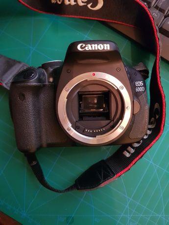 Canon EOS 600D pełny zestaw