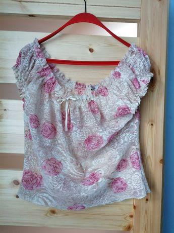 Letnia  bluzeczka w róże