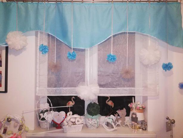 Zasłony dziecięce firany Firana poduszki ozdobne kapa narzuta na łóżko