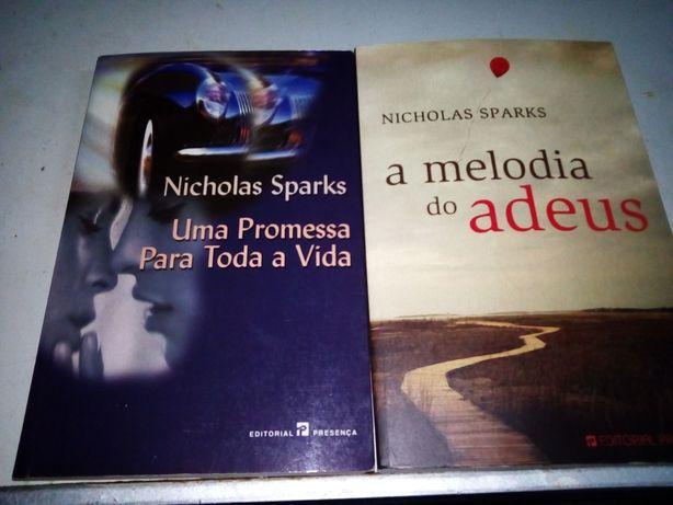Livros Nickolas Sparks