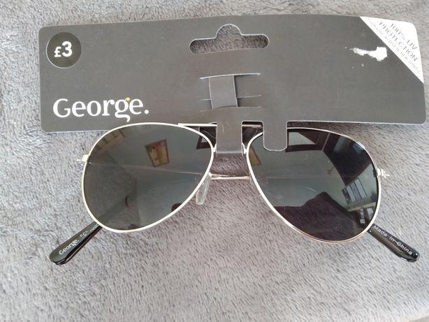 Okulary pilotki dziecięce GEORGE 5-10LAT