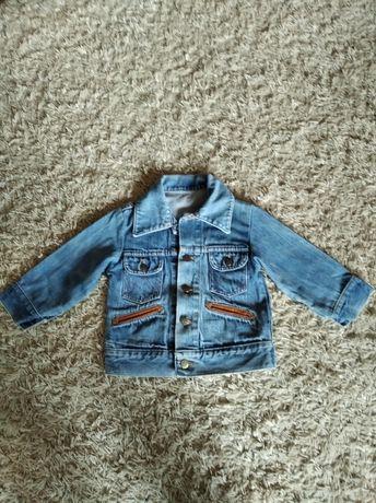 Kurtka jeansowa r. 104-110