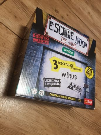 Escape room the game gra planszowa