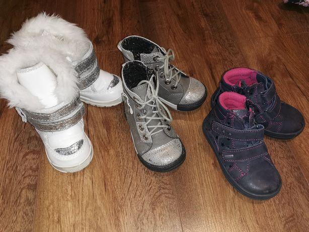 Buty dziecięce jesienne i zimowe rozm. 21