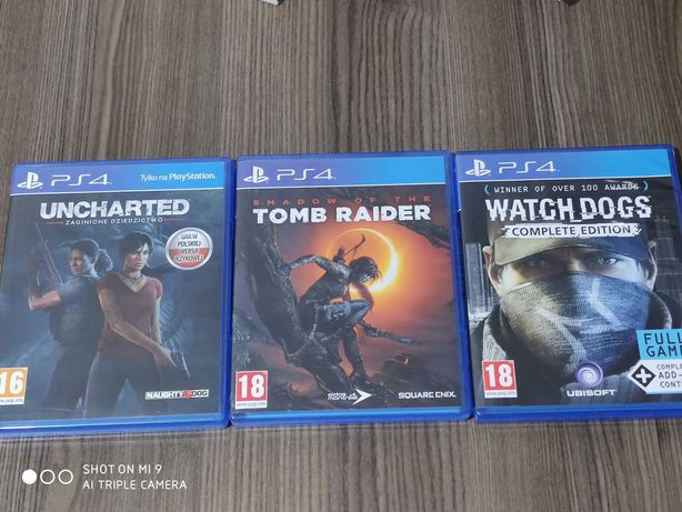 PS4 gry zamiana lub sprzedaż