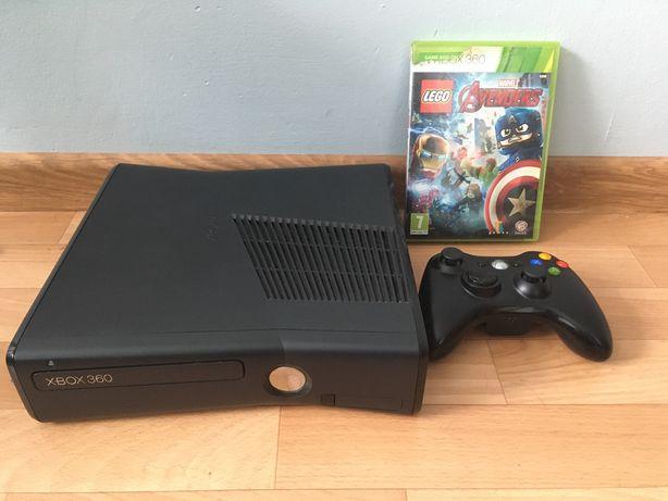XBOX 360 S Stan Bardzo Dobry Zestaw
