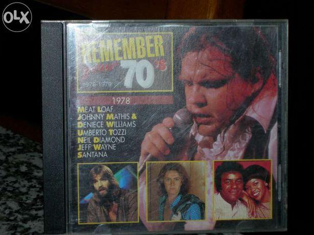 Vendo cd Remember Your 70'S