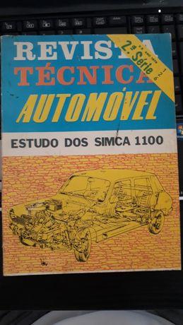 Livro técnico Simca.