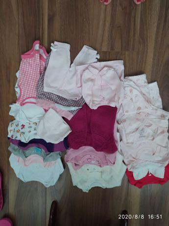 Пакет вещей для девочки от 0-3