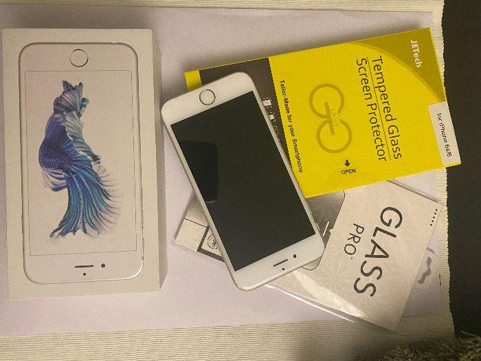 iPhone 6s silver stan idealny SPRZEDAM Płock - image 1