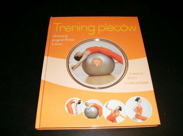 Trening pleców - książka + DVD z ćwiczeniami.