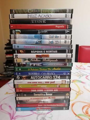 BAIXA DE PREÇO! Lote com 23 DVD (filmes)