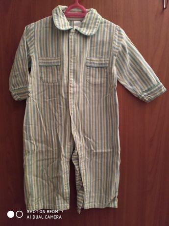 Pijama 9-12 m 100%algodão