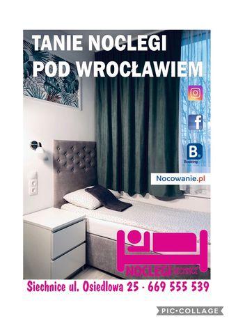 Noclegi pod Wrocławiem dla pracowników i nie tylko