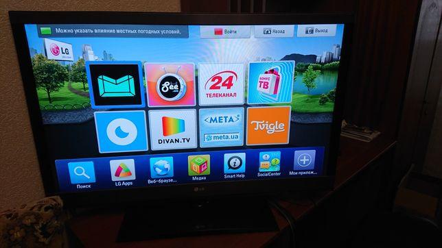 Телевизор LG 42LV571S smart tv DLNA