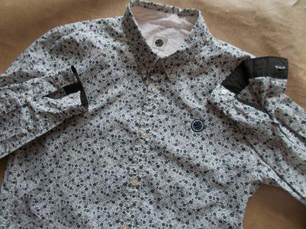 -L-PRETTY GREEN - Designerska Koszula Męska L 42cm UK