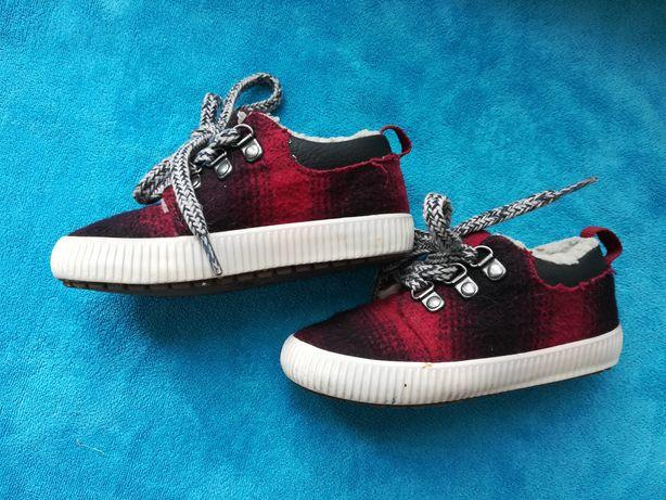 Кроссовки с мехом Zara baby, кеды зимние утеплённые ботинки