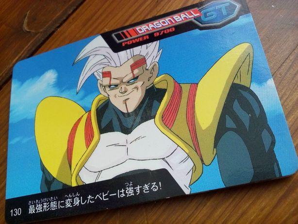 8 Cartões - Dragon Ball GT