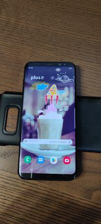 Samsung Galaxy S8+ Plus, AMOLED w pełni sprawny, prywatny, ładowarka