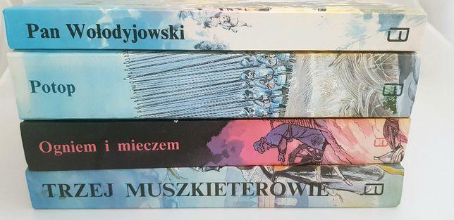Ogniem i Miezem / Potop / Pan Wołodyjowski - Henryk Sienkiewicz